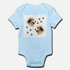 Great Pyrenees Infant Bodysuit, Puppy Paws