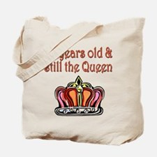 60 YR OLD QUEEN Tote Bag