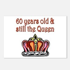 60 YR OLD QUEEN Postcards (Package of 8)
