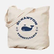 Scranton Whale Excursions Tote Bag