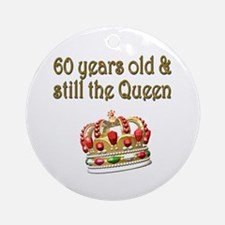 MAJESTIC 60 YR OLD Ornament (Round)