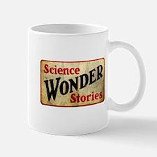 Science Wonder Stories pulp vintage logo Mug