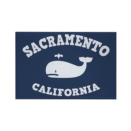 Sacramento Whale Tours Rectangle Magnet