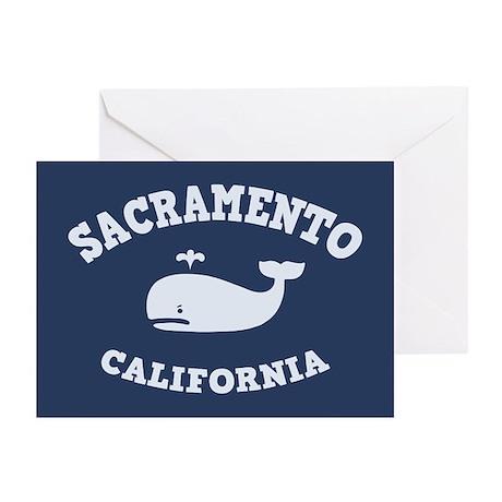 Sacramento Whale Tours Greeting Cards (Pk of 10)