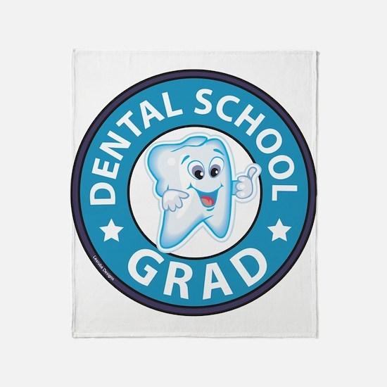 Dental School Graduation Throw Blanket