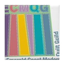ECMQG Tile Coaster