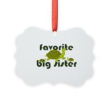 Favorite Big Sister Ornament