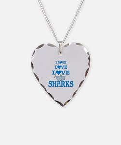 Love Love Sharks Necklace