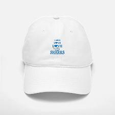 Love Love Sharks Baseball Baseball Cap