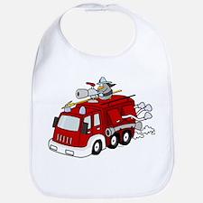 Fire Truck Bib