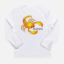 Whimsical Scorpio Long Sleeve Infant T-Shirt