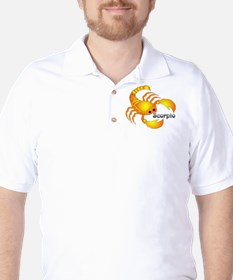 Whimsical Scorpio Golf Shirt