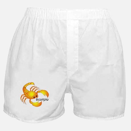 Whimsical Scorpio Boxer Shorts