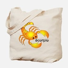 Whimsical Scorpio Tote Bag