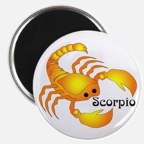 Whimsical Scorpio Magnet
