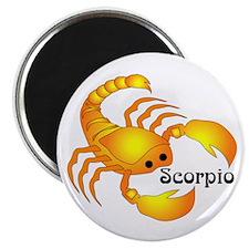 "Whimsical Scorpio 2.25"" Magnet (10 pack)"