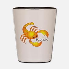 Whimsical Scorpio Shot Glass