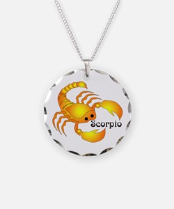 Whimsical Scorpio Necklace