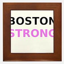 Boston Strong Framed Tile