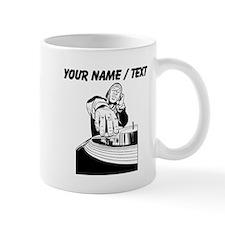 Custom DJ Spinning Mug
