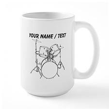Custom Drum Set Mug
