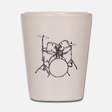 Drum Set Shot Glass