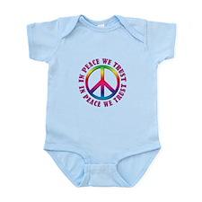 In Peace We Trust Infant Bodysuit