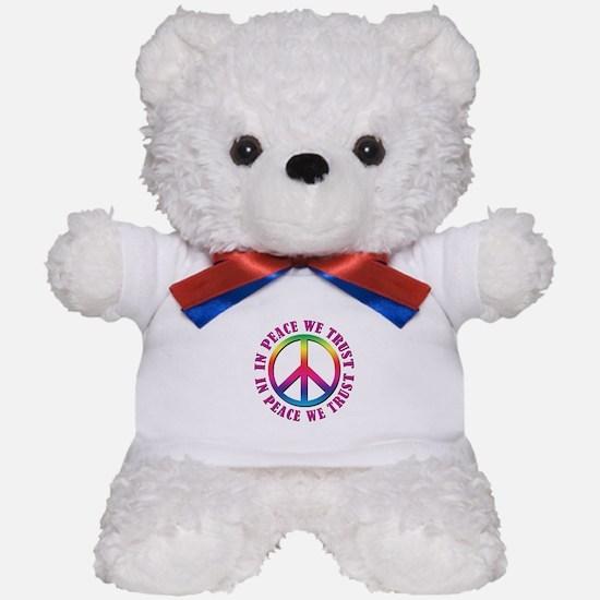 In Peace We Trust Teddy Bear