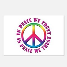 In Peace We Trust Postcards (Package of 8)