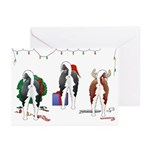 Husky Christmas Greeting Cards (Pk of 10)