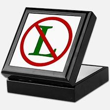 NOEL (NO L Sign) Keepsake Box