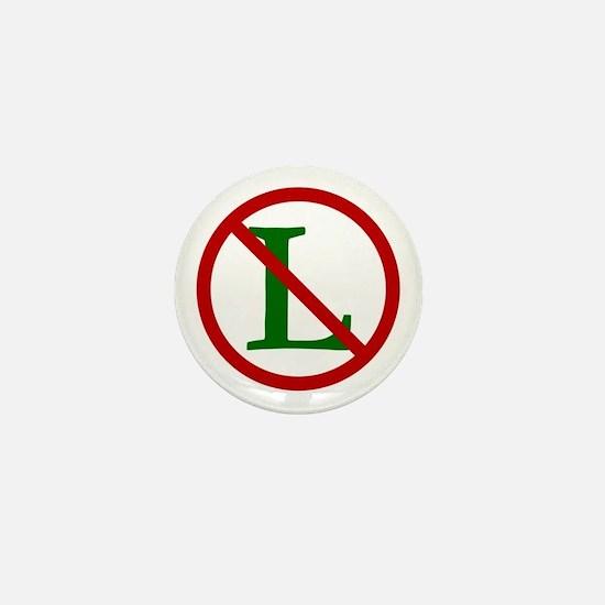NOEL (NO L Sign) Mini Button