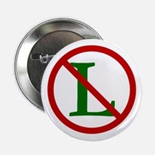 """NOEL (NO L Sign) 2.25"""" Button (100 pack)"""