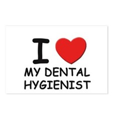 I love dental hygienists Postcards (Package of 8)