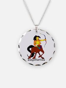 Whimsical Sagittarius Necklace