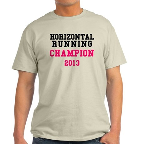 Horizontal Running Champion 2013 T-Shirt