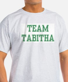 TEAM TABITHA  Ash Grey T-Shirt