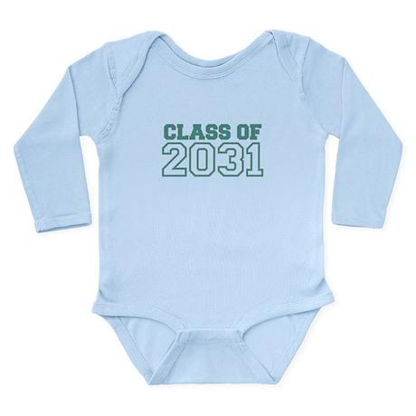 Class of 2031 Long Sleeve Infant Bodysuit
