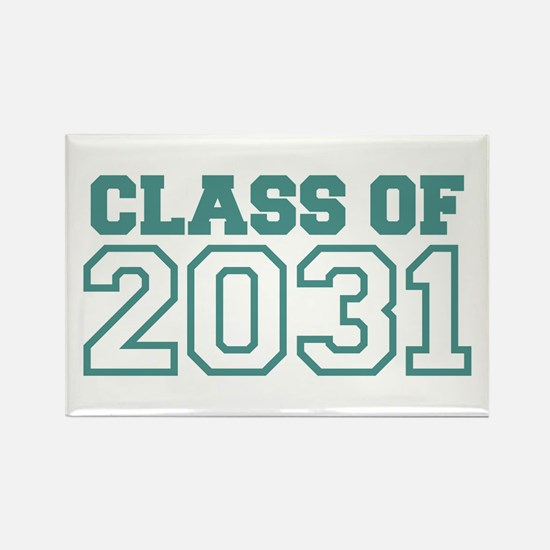 Class of 2031 Rectangle Magnet