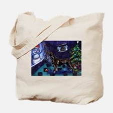 field spaniel Christmas Tote Bag