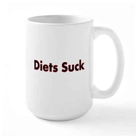 Diets Suck Mug