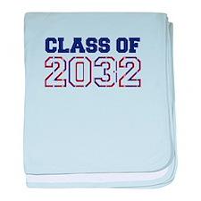 Class of 2032 baby blanket