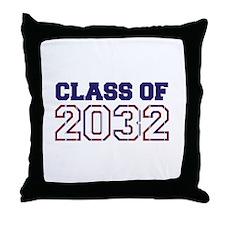 Class of 2032 Throw Pillow