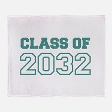 Class of 2032 Throw Blanket