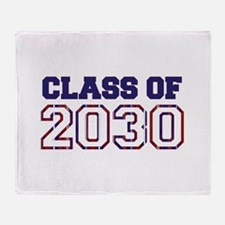 Class of 2030 Throw Blanket