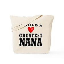 Worlds Greatest Nana Tote Bag
