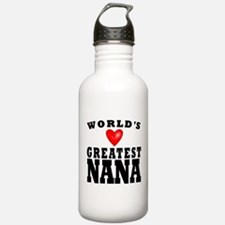 Worlds Greatest Nana Water Bottle