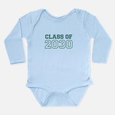 Class of 2030 Long Sleeve Infant Bodysuit