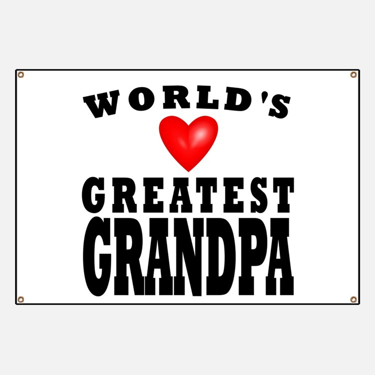 Worlds Greatest Grandpa Banner