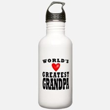 Worlds Greatest Grandpa Water Bottle